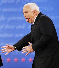 The McCain tongue photo/picture | Debate 08