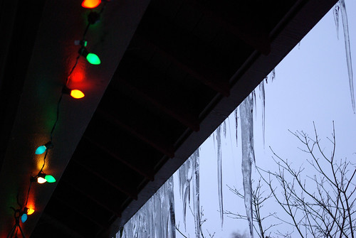 lights and icicles