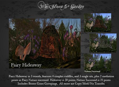 Fairy Hideaway at Winx Home & Garden
