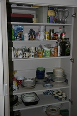 Cupboard with stuff