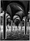 M. C. Escher. Procesión en la Cripta. 1927.