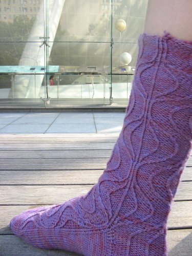 Unraveling Rib Socks