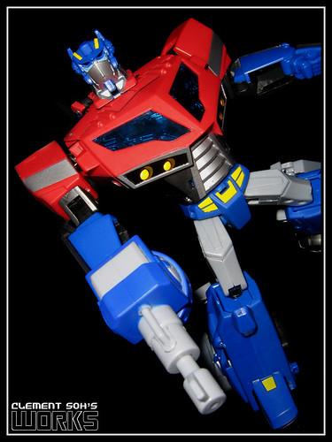 Animated Optimus Prime