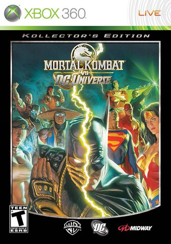 mortal kombat vs dc universo- portada alternativa por ti.