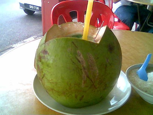 Thomson Corner coconut cendol