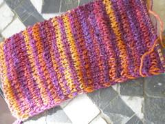 """Handspun """"noro"""" scarf"""