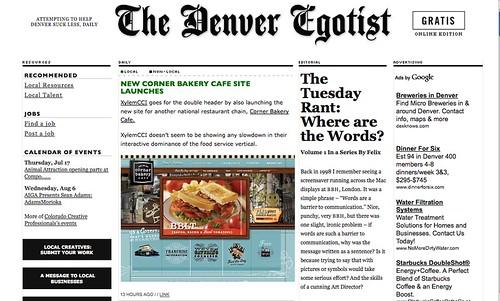 Denver Egotist Corner Bakery