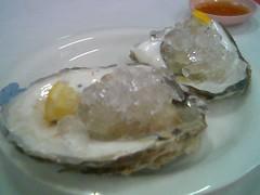Sandakan seafood fresh oysters