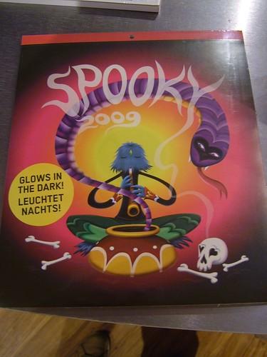 spooky calendar