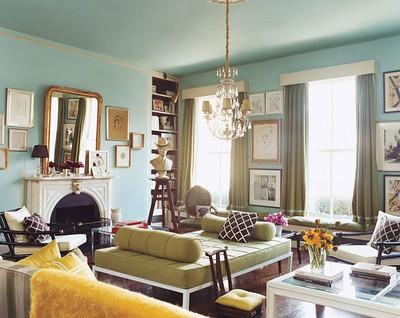 Domino Living Room-Sara Ruffin Costello