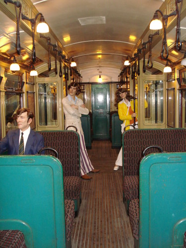 Old Northern Line carriage, from bagelmouses photostream. Click pic to visit.
