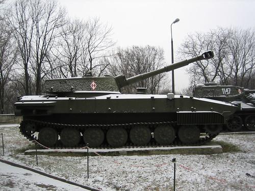 Tank in Warsaw