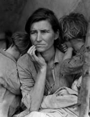 Dorothea Lange, Mère migrante (Migrant Mother)...