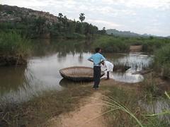 View from Nava Brindhavan side