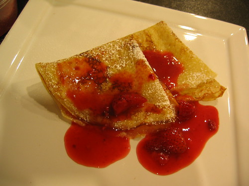 Crepes with a Berry Mix