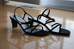 Fabulous Strappy Black Sandals