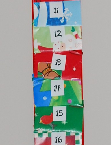Advent Calendar Closeup