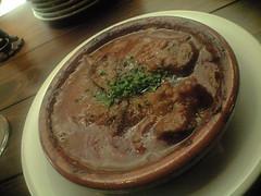 牛すね肉の煮込み@Vaso de oro