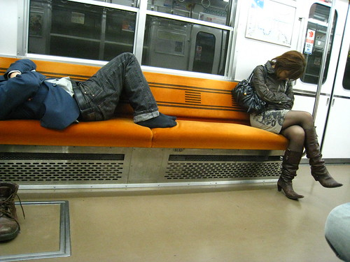 Japanese sleeping