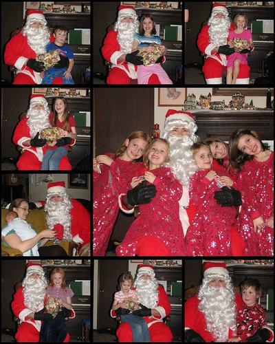 Santa Collage