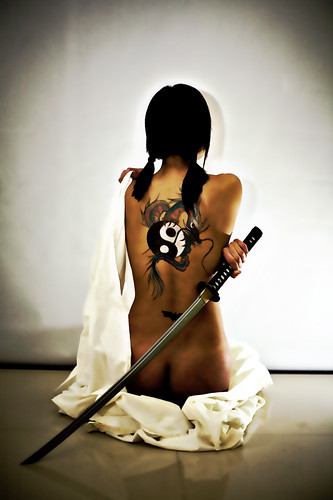 Yakuza girl body paint designs