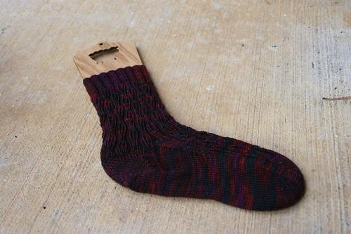 zombie sock #1