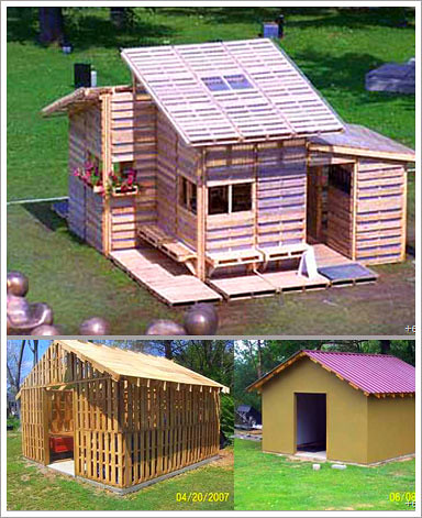 pallet house adobe construction