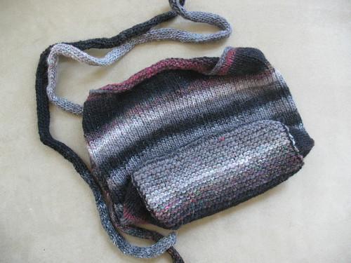 Booga Bag, pre-felting