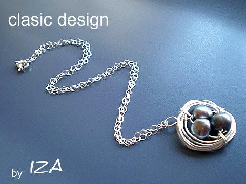 bijuterii-argint-perle-negre-pietre semipretioase-lucrate manual by you.
