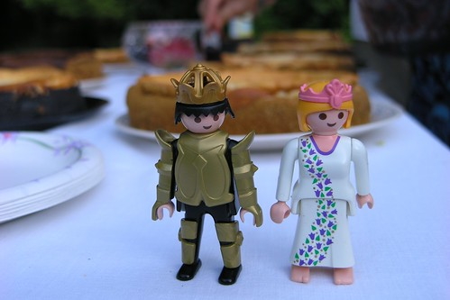mega blocks wedding cake toppers by professor megan.