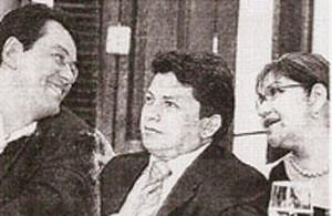 Eduardo Braga, Sinésio Campos e Marilene Corrêa