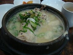 土俗村 参鶏湯(サムゲタン) Samgyetang