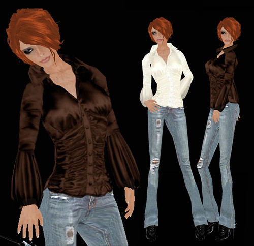 Glaurena Silk Bouses & Jeans