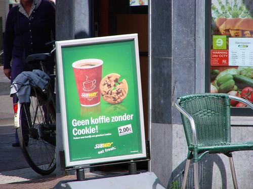 Geen Koffie Zonder Cookie