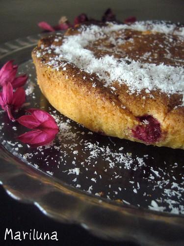 torta lamponi mandorle