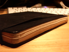 My GTD-Moleskine experiment. The set-up... (1/3)
