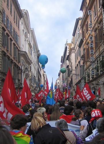 30 Ottobre 2008 - Sciopero Generale (c)(c) gaetano aitan vergara