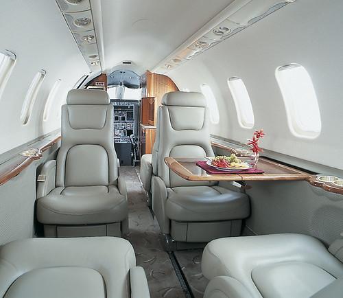 Interior Learjet