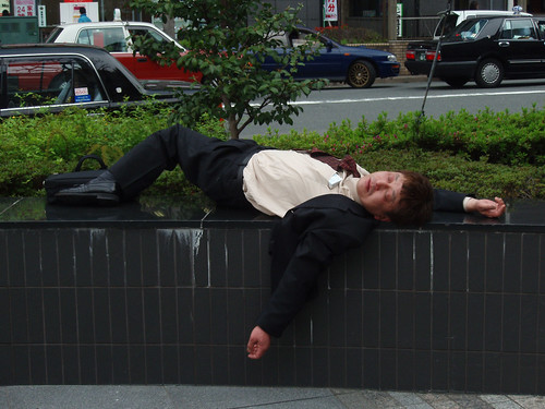Best drunk salaryman picture ever?