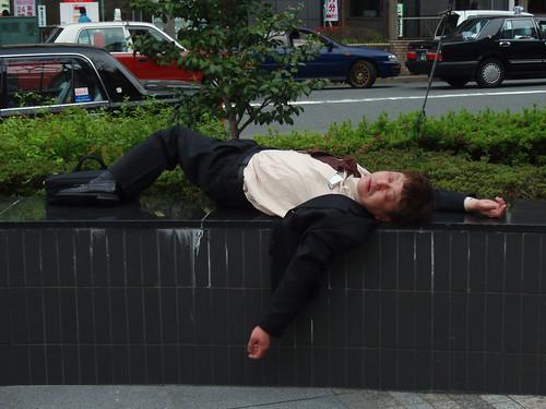 Best drunk salaryman picture ever?