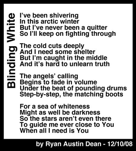 Blinding White