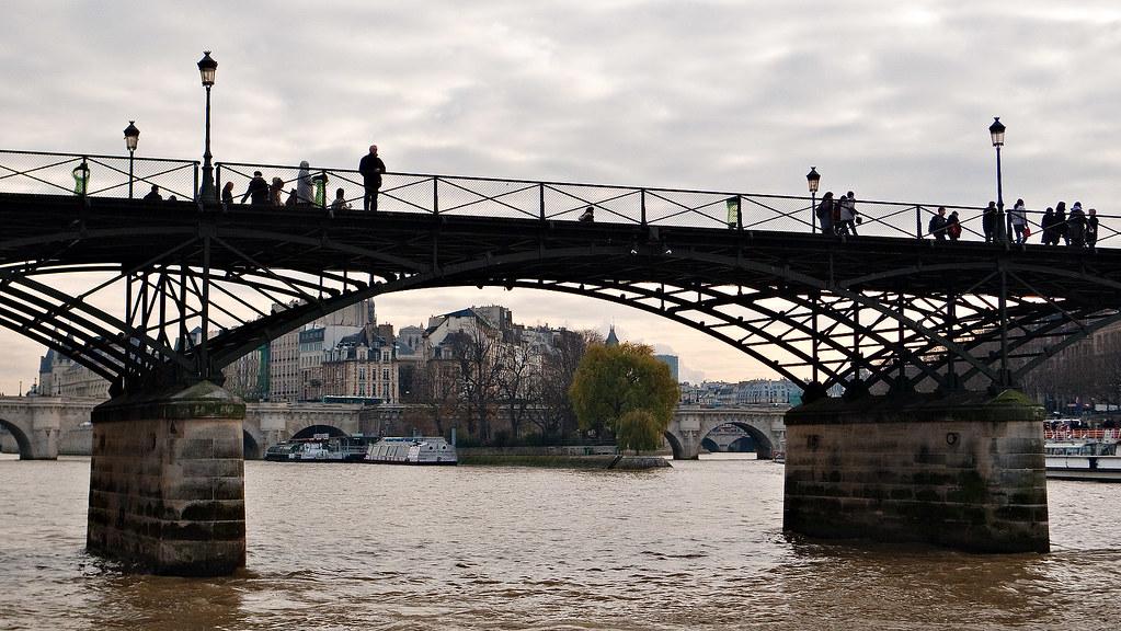 Pont des Arts e Ile de la Cité