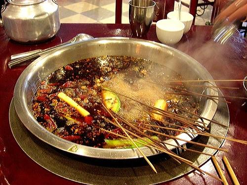 Bubbling chuanchuan