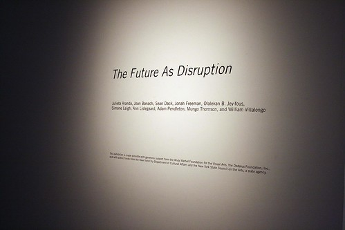 Future as Disruption by Fu Man Jew, on Flickr