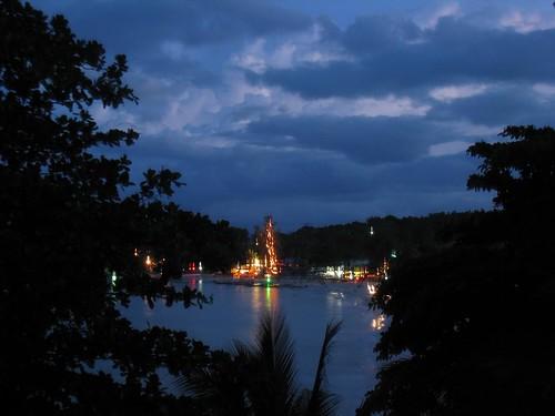 Day turns to night on Kho Phangan