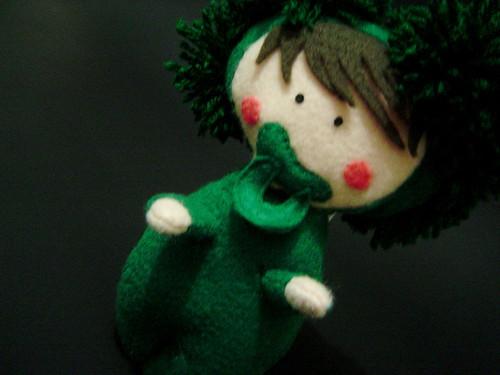 Boneco do Bebê Brócolis, para Julia Cabral