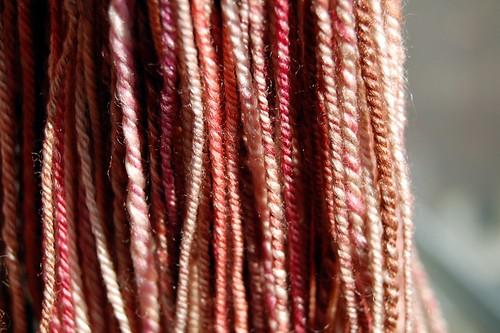 Seacell wool yarn