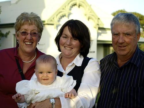 Aunty Brenda, Karla, Tina & Uncle Dennis