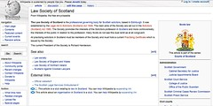 Law Society Wikipedia current