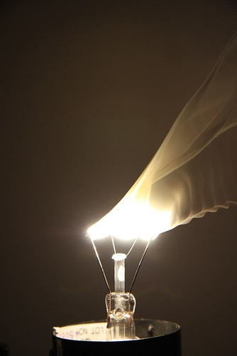 Burning Light Bulb 2